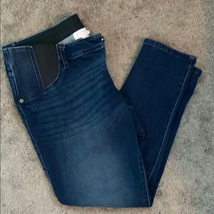 {Ingrid} skinny crop maternity jeans, size 14